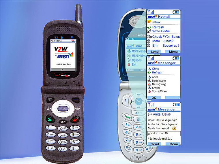 MSN Mobile g-phone