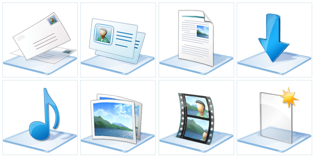 Windows 7 icon set