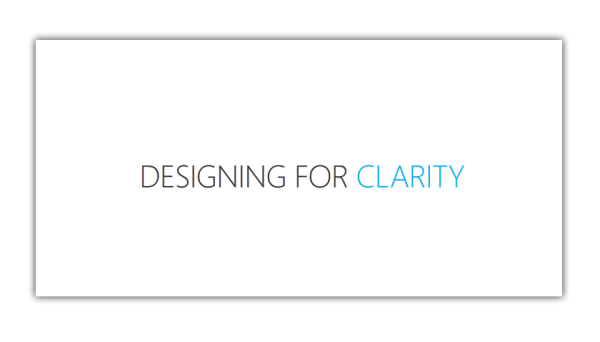 DesigningForClarity_MPell