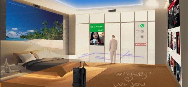 Internet of Things - hotel room design