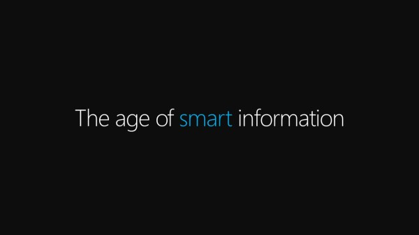 The age of smart information