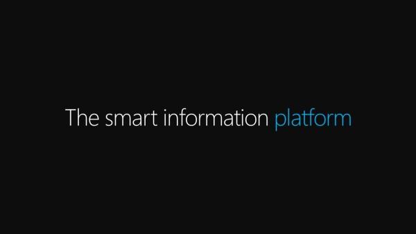 The smart information platform