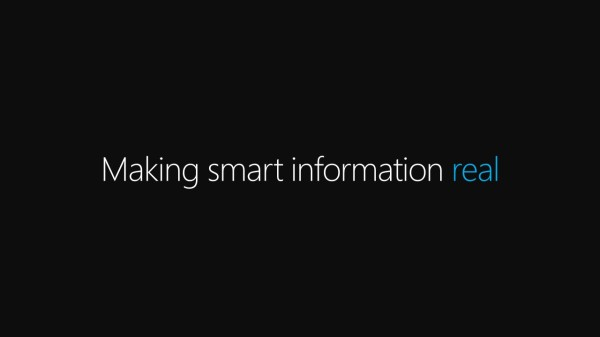Making smart information real